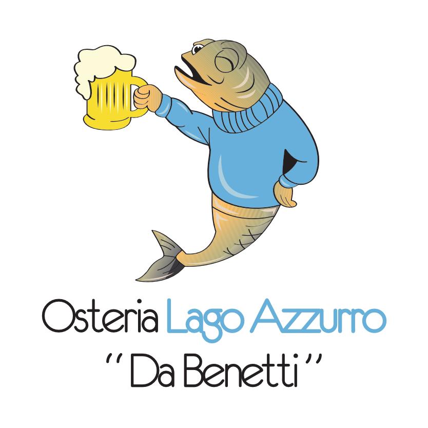 Osteria Il lago Azzurro – San Pietro Mussolino Logo